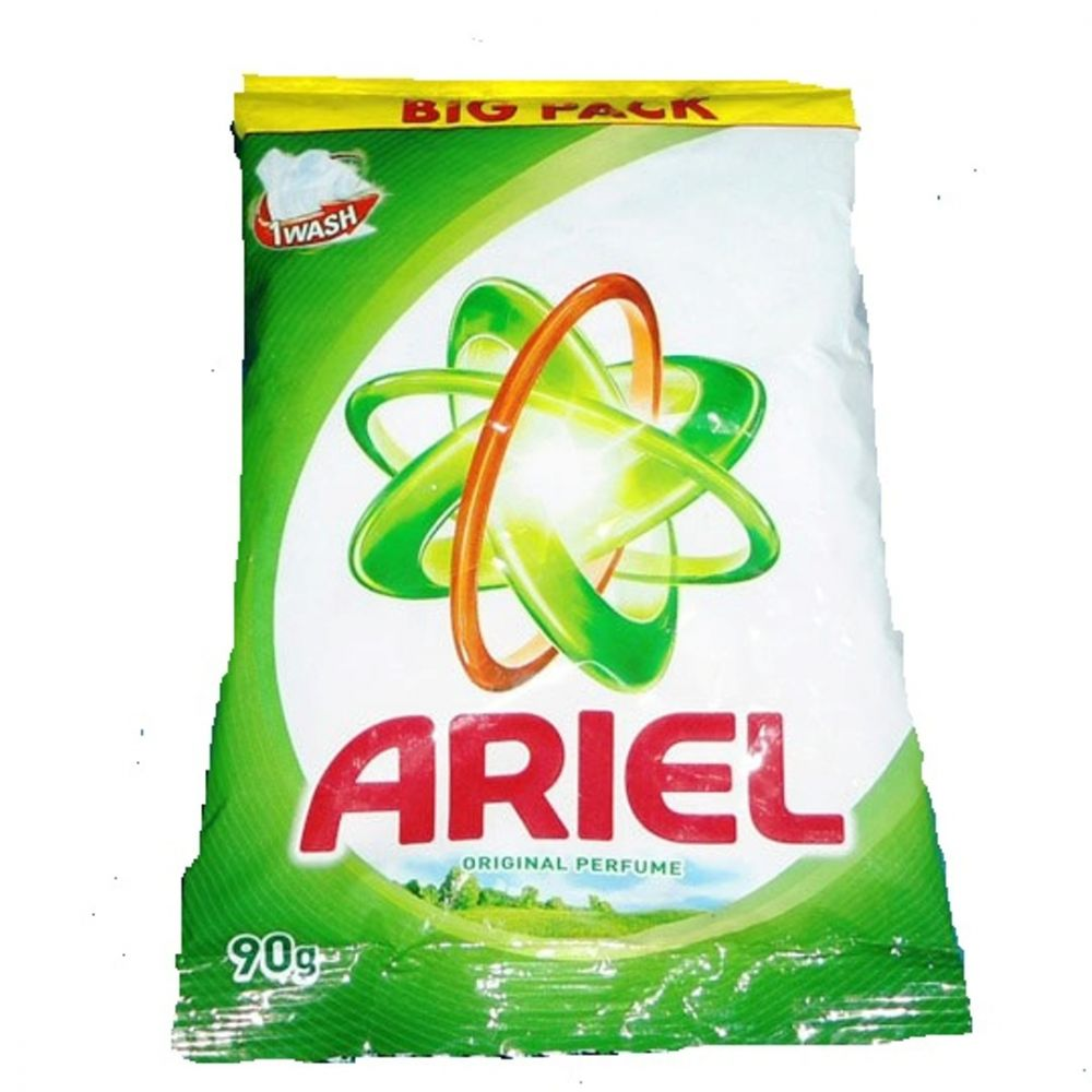 Groceries Cleaning Household Goods Product Laundry Care Tools Shoe Polish Ariel Detergent 90gx12